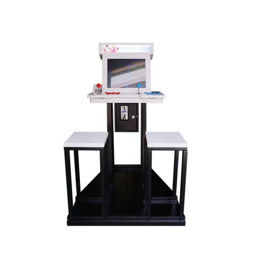arcade with stand and chair